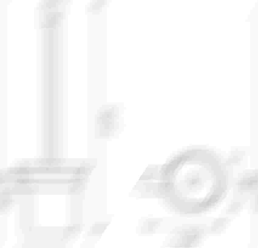 Szczotka do WC Ferro Audre rysunek techniczny