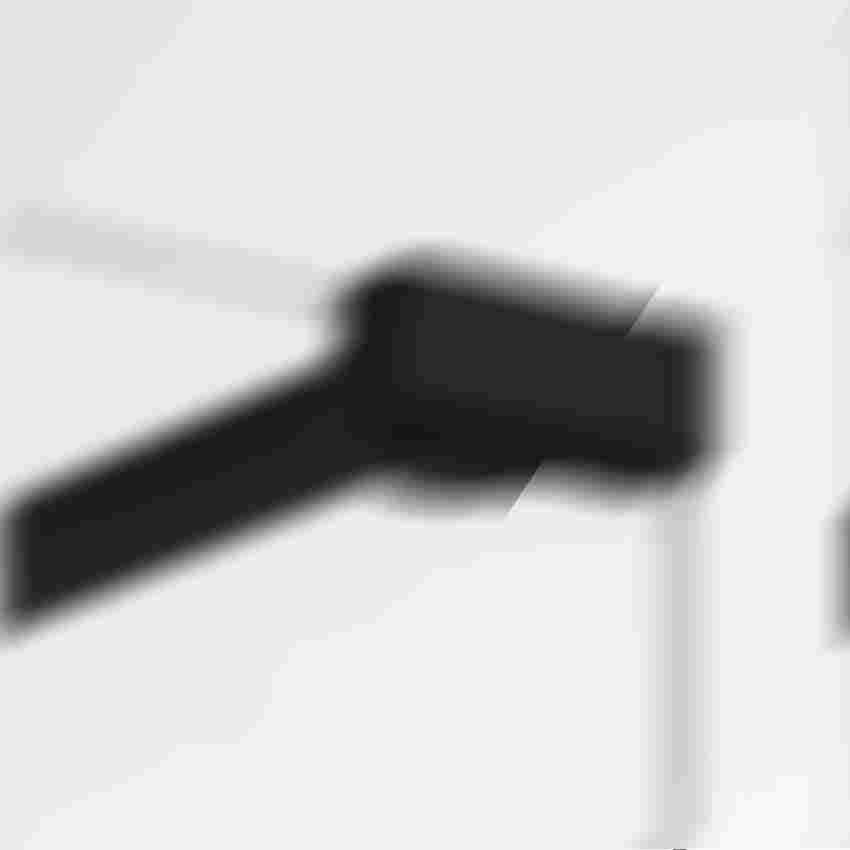 Wspornik czarny ścianki kabiny prysznicowej New Modus Black