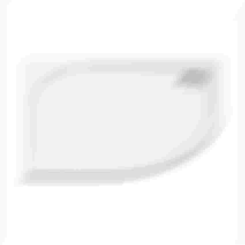 Brodzik półokrągły 90x90x3 cm New Trendy Savos