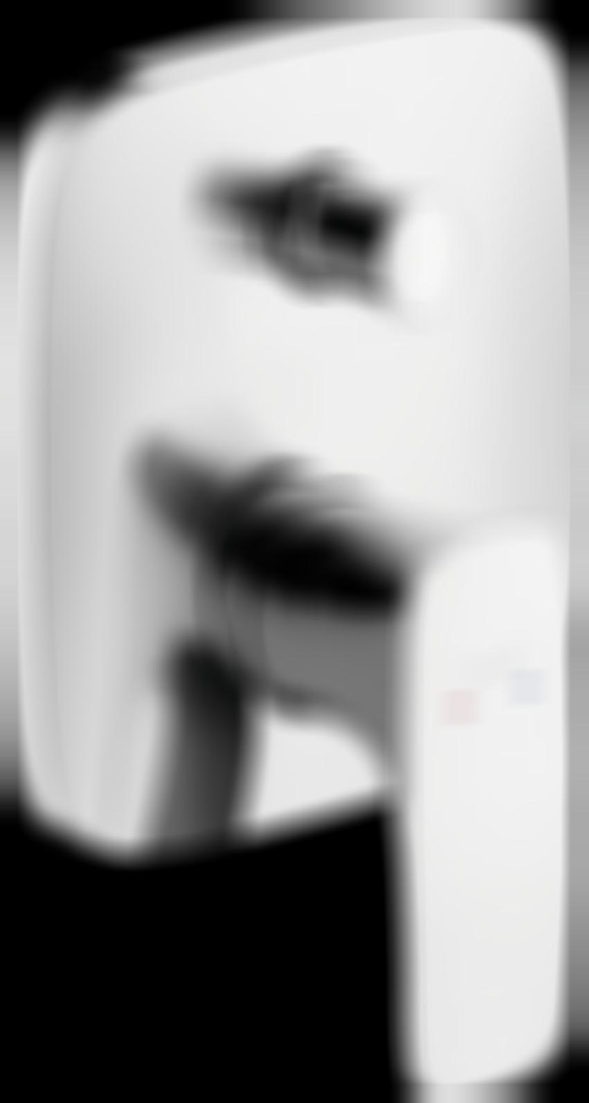 Jednouchwytowa bateria wannowa podtynkowa element zewnętrzny Hansgrohe PuraVida