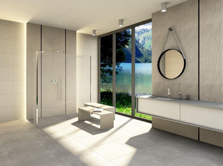 Aranżacja łazienki w kolekcji Azario Natorre