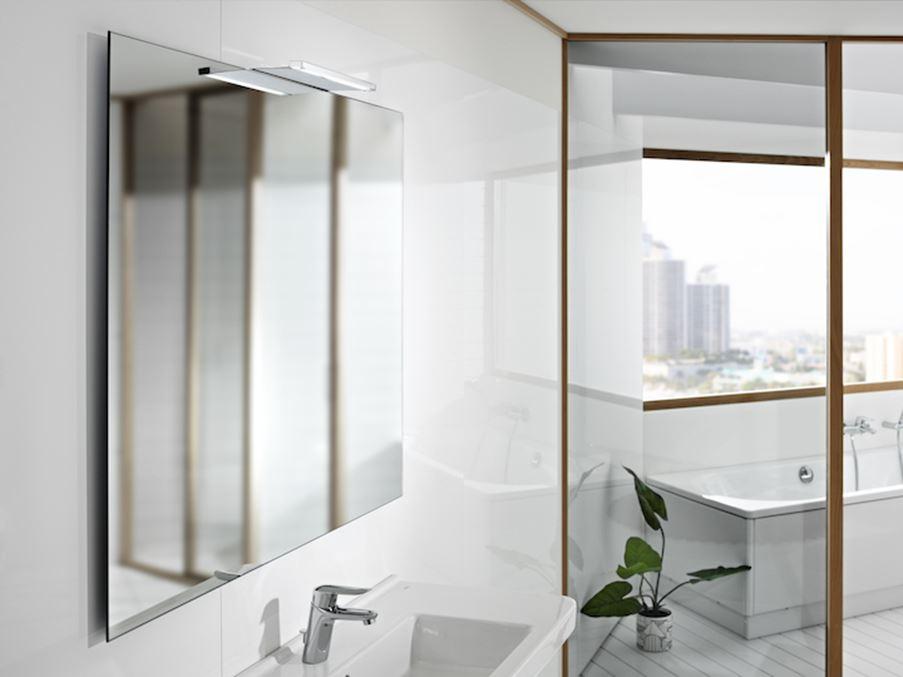 Aranżacja łazienki z Roca Luna