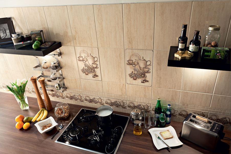 Dekoracyjna strefa nadblatowa w kuchni