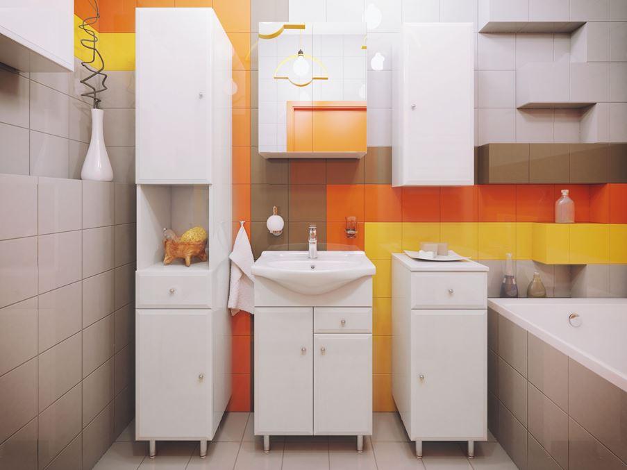 Meble łazienkowe z kolekcji Defra Armando