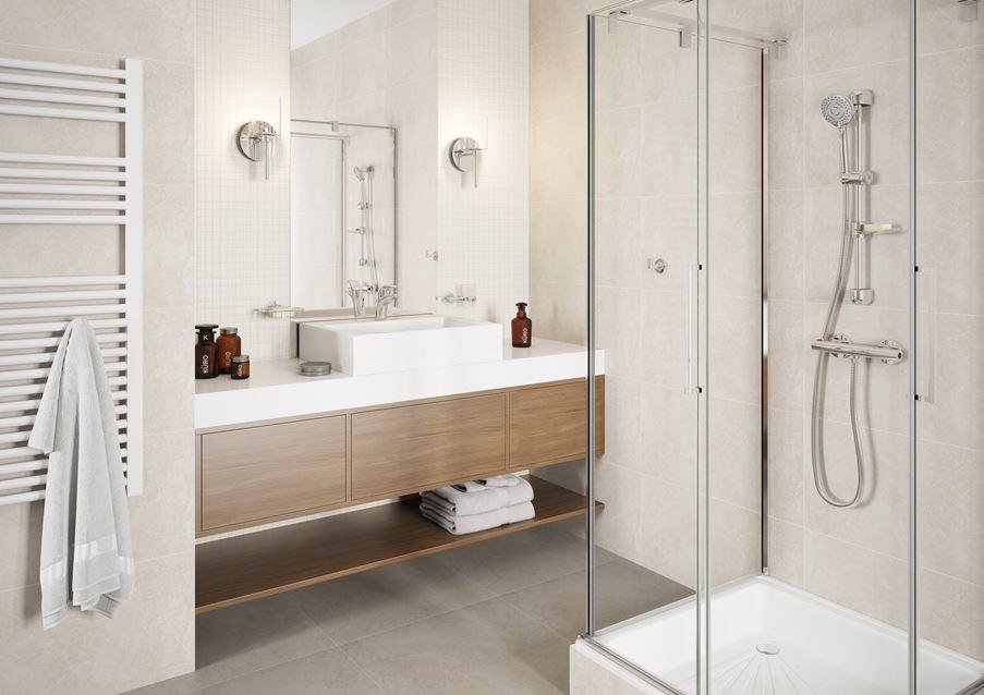 Jasna łazienka- kolekcja Ferro Torrente