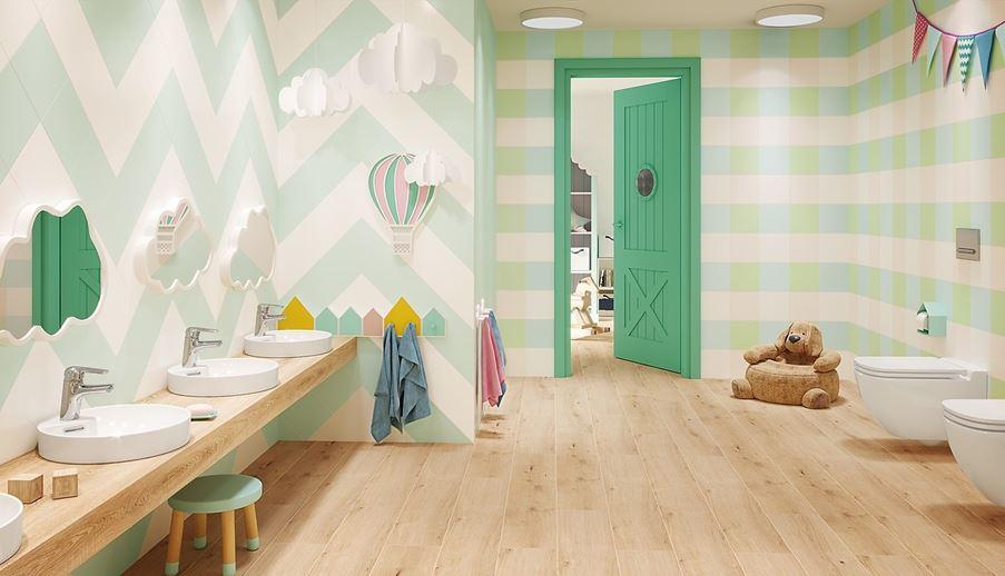 Łazienka dla najmłodszych Opoczno Monoblock