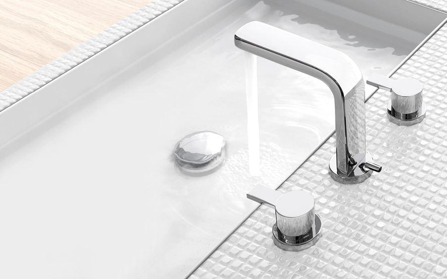 Bateria umywalkowa dwuuchwytowa Kludi Zenta