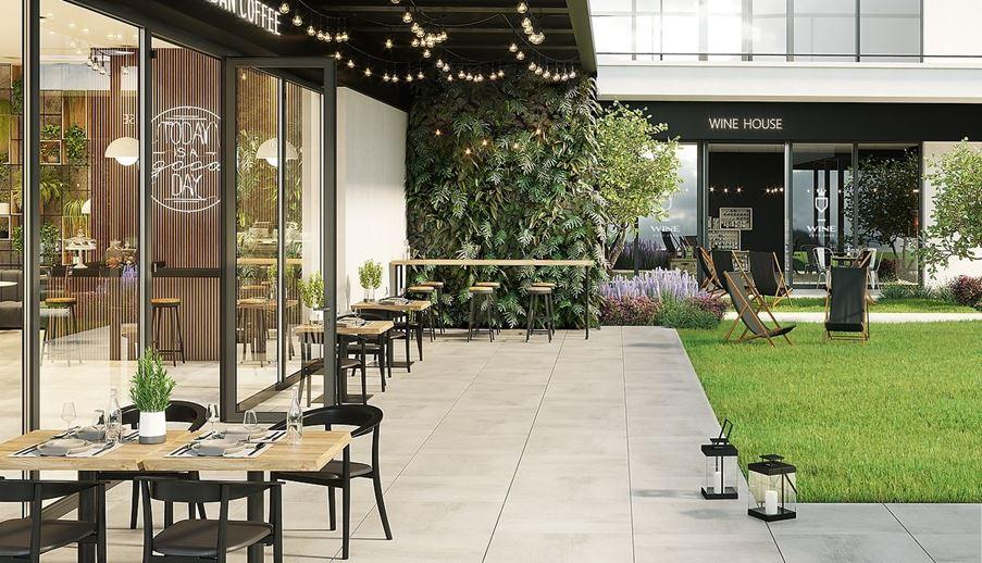 Aranżacja kawiarnianego ogródka
