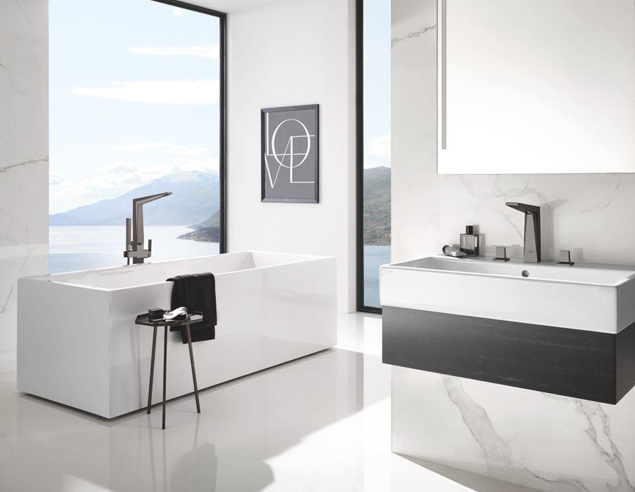 Nowoczesna łazienka w bieli Grohe Allure Brilliant