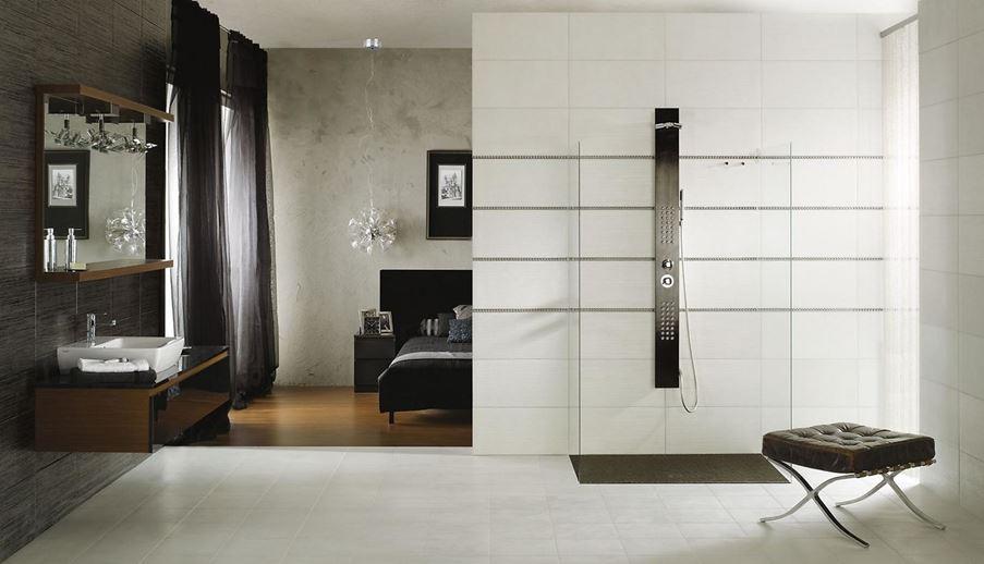 Aranżacja nowoczesnej łazienki przy sypialni