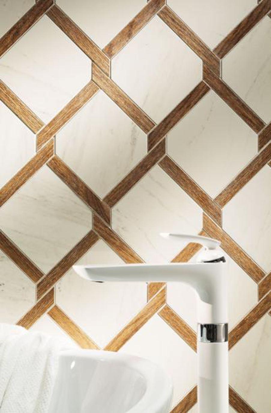Mozaika brązowa Tubądzin Larda