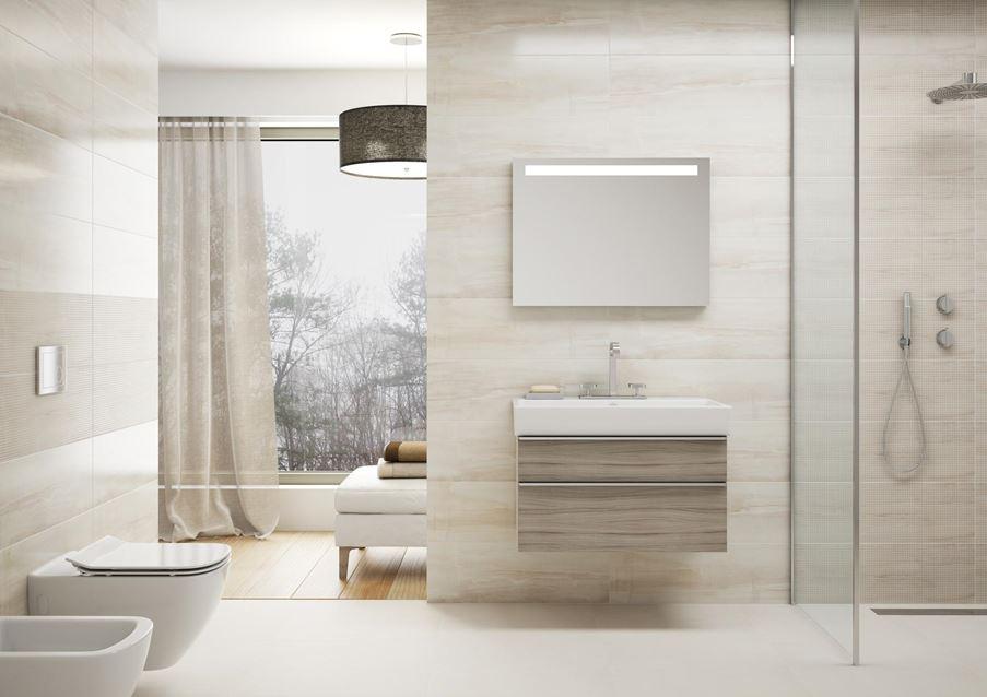 Opoczno Simple Stone - łazienka zawsze modna