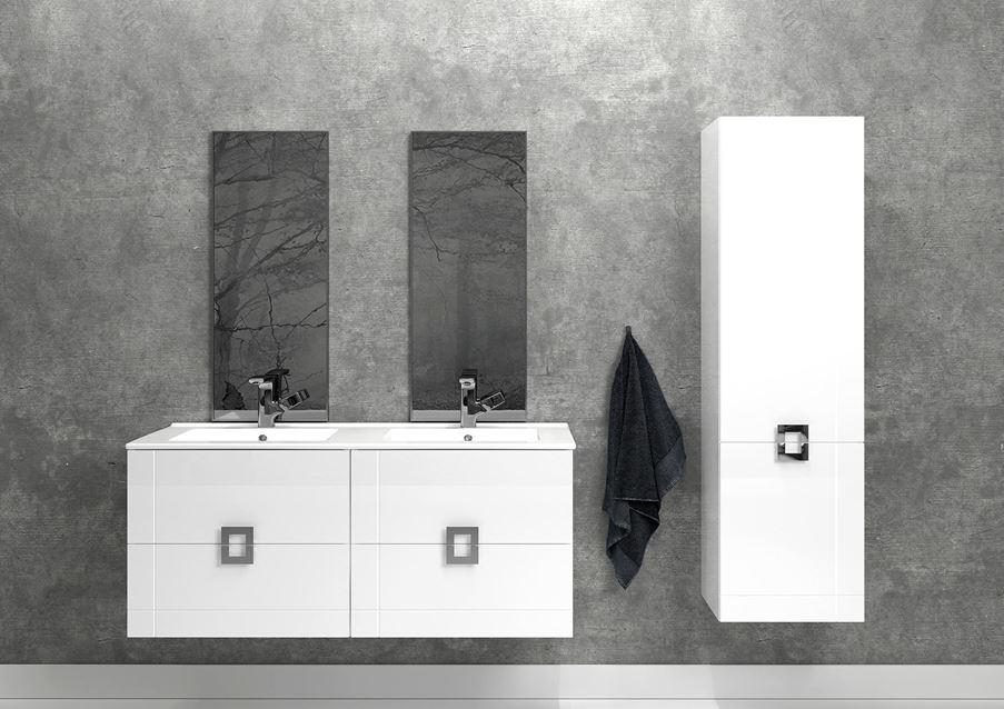 Defra Lines - klasyczna biel na surowej ścianie