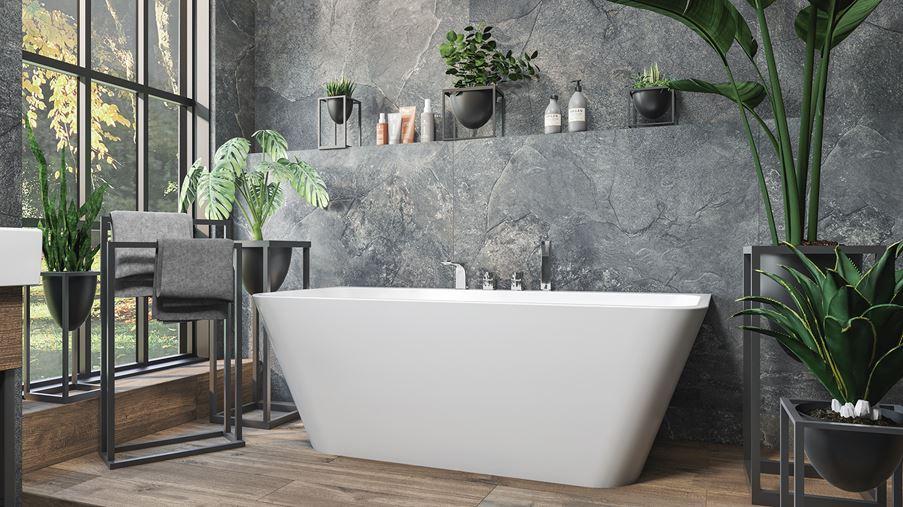 Łazienka w naturze