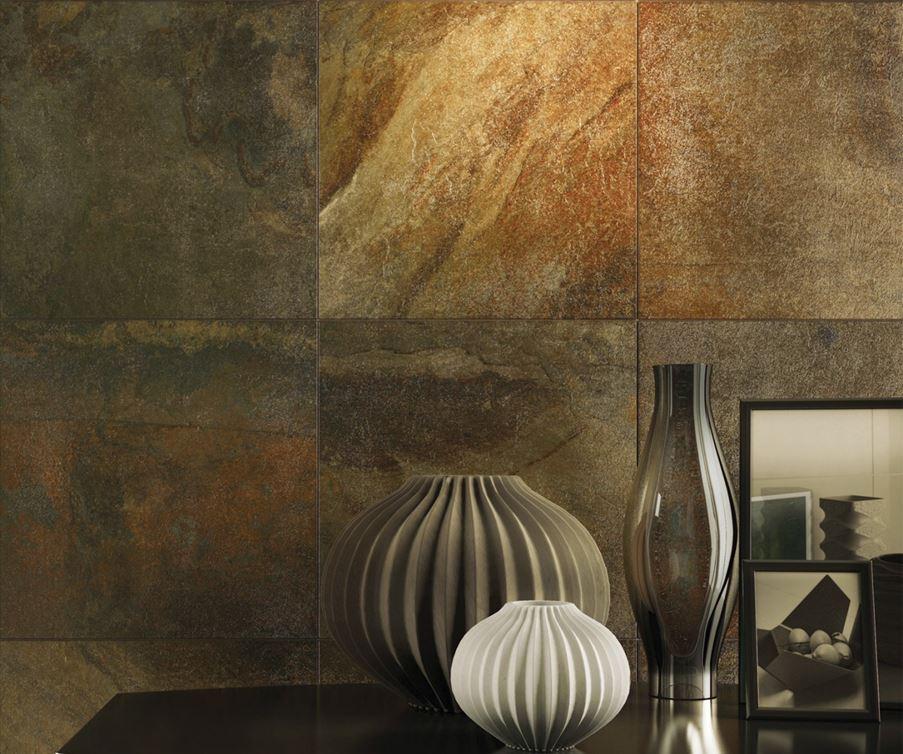 Kamienna ściana Ceramika Gres Pamir