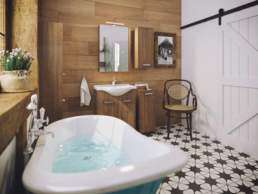Defra Amalfi w łazience