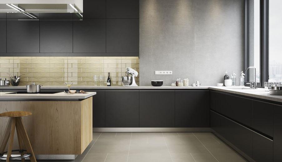 Aranżacja kuchni z kolekcją Universal Glass Decorations