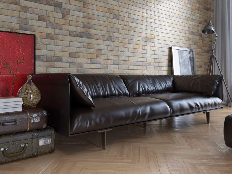 Fragment salonu w stylu Loft