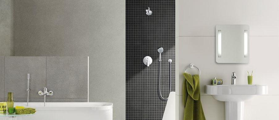 Nowoczesna łazienka z mozaiką