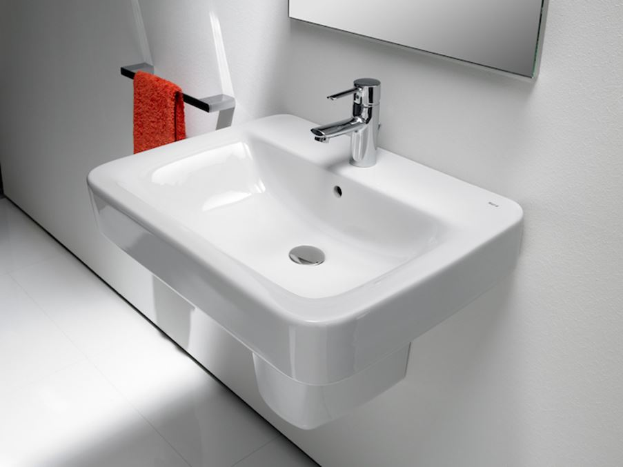 Prostokątna umywalka Roca Senso Square