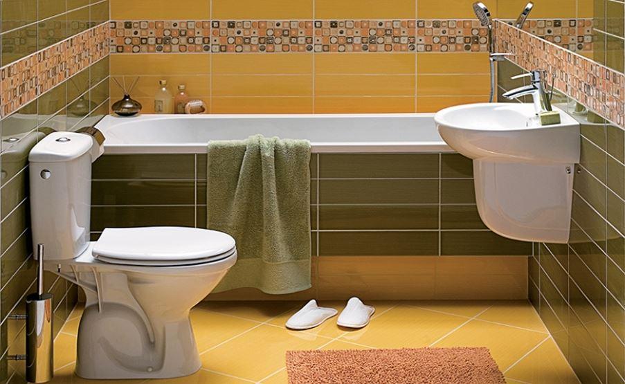 Aranżacja łazienki z ceramiką Koło Idol