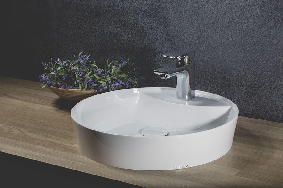 Okrągła umywalka Kappala Bolmen