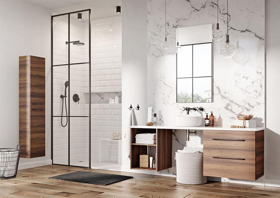 Aranżacja łazienki z meblami Elita Barcelona
