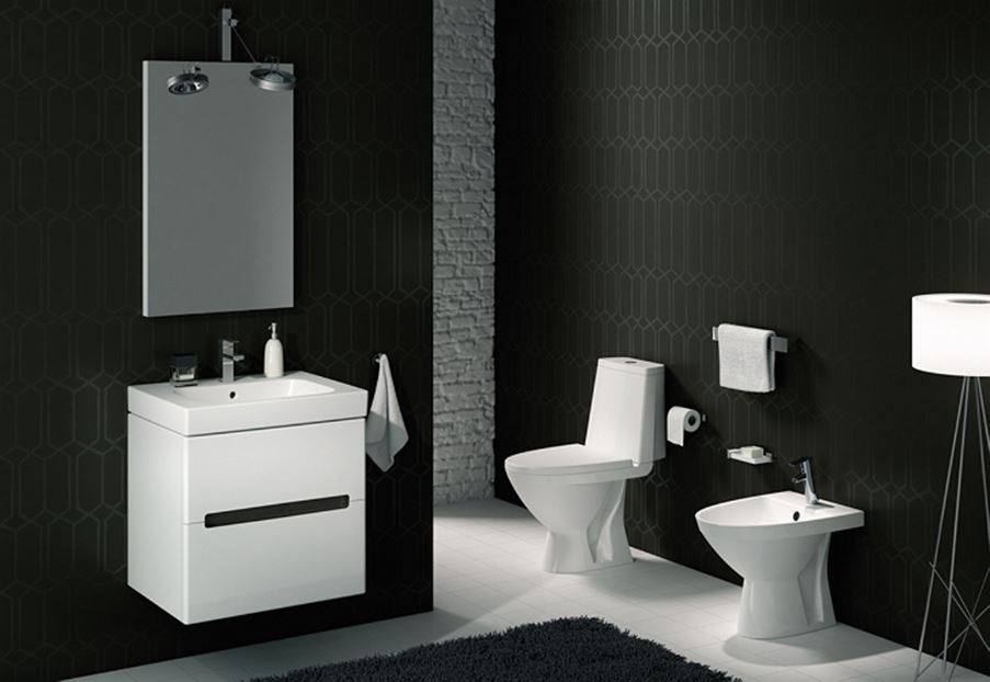 Ceramika łazienkowa i meble z kolekcji Koło Modo