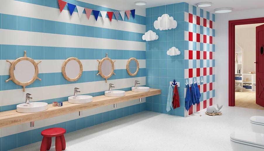 Łazienka przedszkolna Opoczno Monoblock