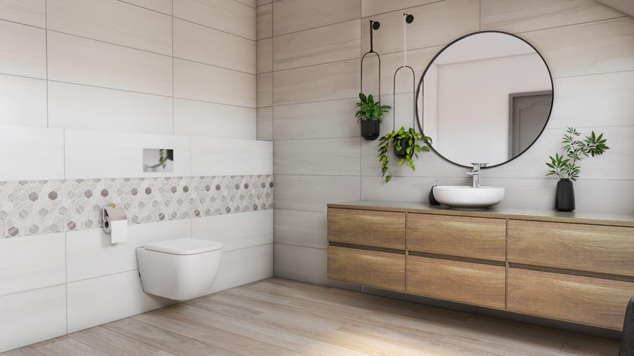 Azario Board - łazienka w drewnie