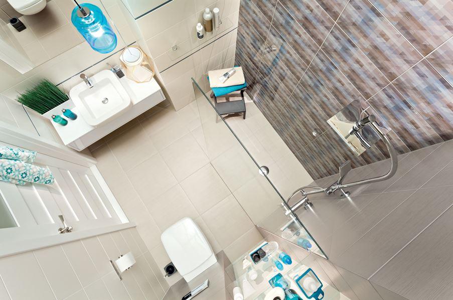 Aranżacja nowoczesnej łazienki Domino Kalma