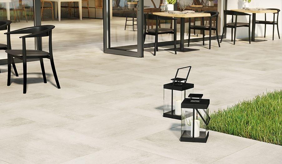 Detal płytki inspirowanej betonem