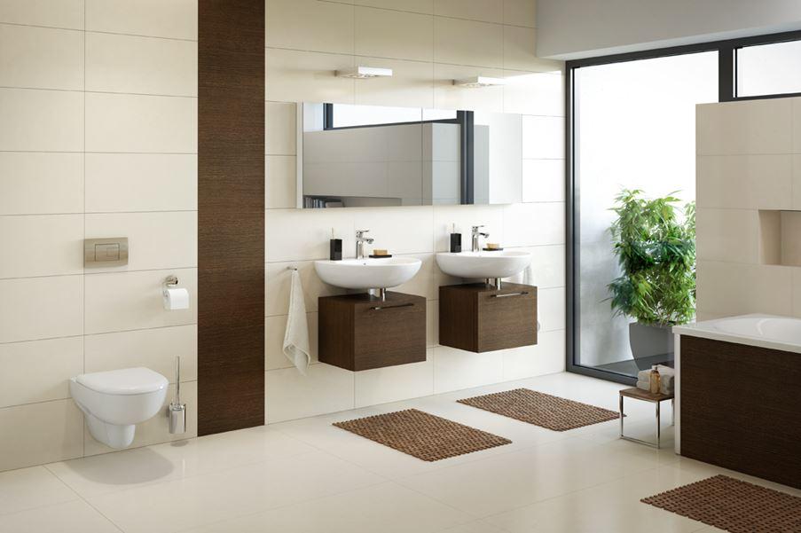 Aranżacja nowoczesnej łazienki dla dwojga